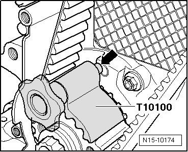 T5  замена ГРМ