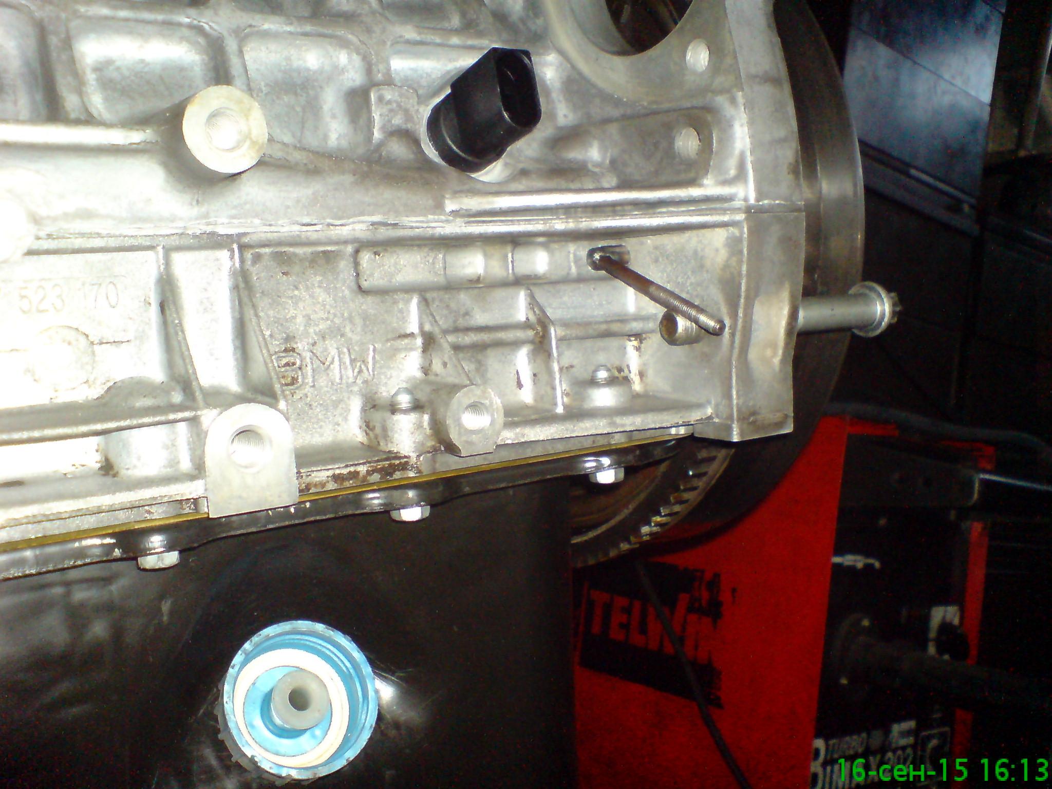 Ремонт BMW двигатель 42 на СТО в Киеве