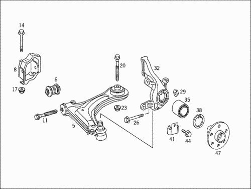 Crafter Sprinter замена  шаровой СТО