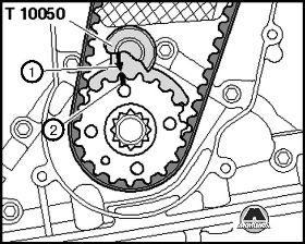 Установка ремня ГРМ на СТО Киев Volkswagen Amarok